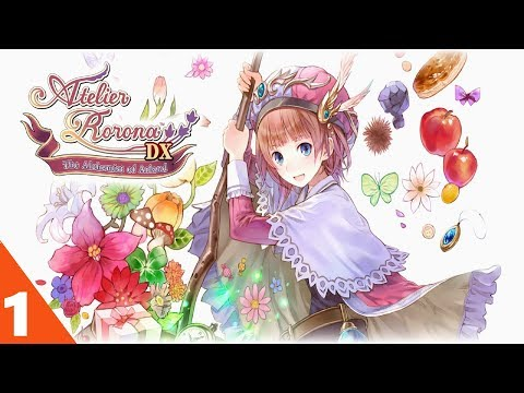 Atelier Rorona The Alchemist of Arland DX Walkthrough Gameplay Part 1 No Commentary (PC)