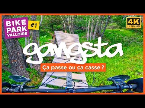 GANGSTA #1   ENDURO ROUGE   BIKE PARK VALLOIRE   VTT XC   MTB