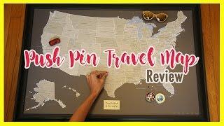 Push Pin Maps Review