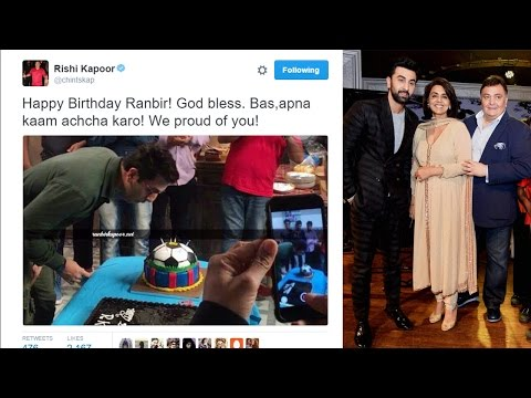 Rishi Kapoor's special message for Ranbir Kapoor on his birthday |Filmibeat