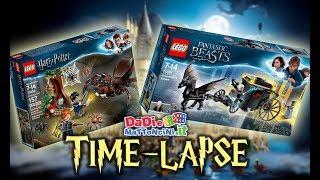 LEGO TIME-LAPSE / COVO di ARAGOG & FUGA di GRINDELWALD