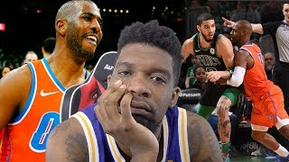 Passed Up Rockets Im PISSED! Boston Celtics vs Oklahoma City Thunder Highlights
