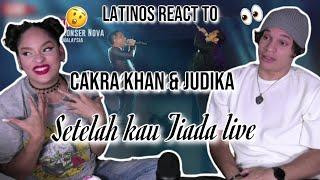 CAKRA KHAN's & JUDIKA's LIVE VOCALS are INCREDIBLE 🤩| CAKRA KHAN feat. JUDIKA - Setelah Kau Tiada