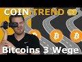 🤔5702$ Bitcoins 3 Wege 👍ETH, UBQ, VTC, QTUM steigen leicht