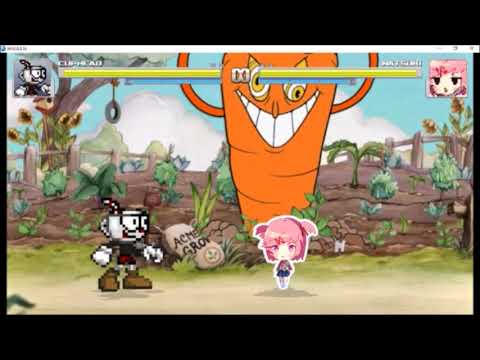 MUGEN: Cuphead BETA Release, Spread, Aeroplane, and Energy Beam moves