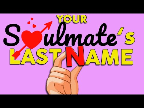 Discover The First Letter Of Your Soulmate's Last Name -  Love Personality Test | Mister Test