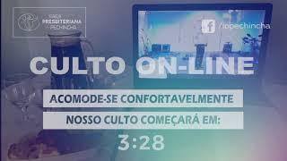 Culto Vespertino - Rev. Fabio Castro - 25/04/2021