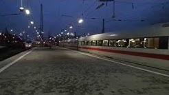 Ausfahrt 15: ICE 881 nach Hamburg Altona