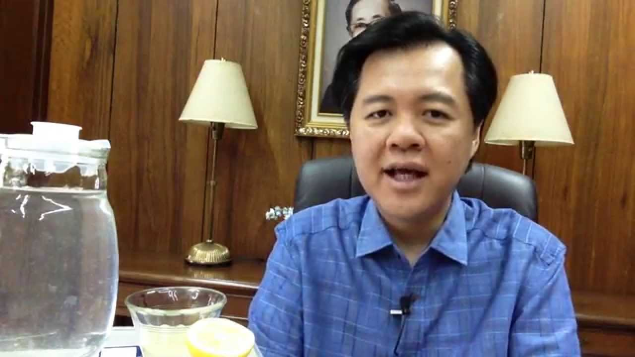 Lemon Water: How To Prepare It - Dr Willie Ong Health Blog #42