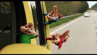 Элвин и бурундуки: Грандиозное бурундуключение - Трейлер на Русском | 2016 | 1080p