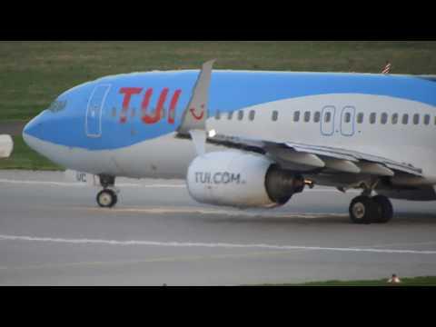 Tui Fly Boeing 737 Takeoff From Stuttgart EDDS In 4k