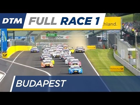 DTM Budapest 2016 - Race 1 - Re-Live (English)