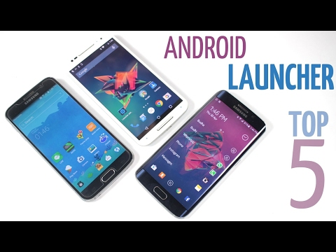 Top 5 android launchers of 2017 | The most stable edition +GIVEAWAY