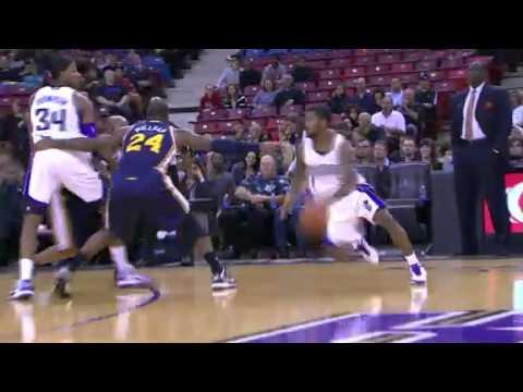 Brooks DISHES to Thompson | Utah Jazz Vs Sacramento Kings | 11/24/2012 | NBA Season 2012/13