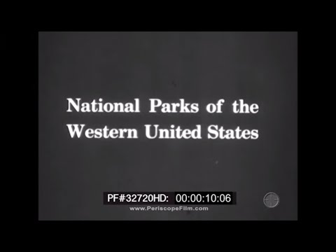 National Parks of the Western United States - Glacier National Park 1920s 32720 HD