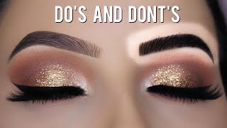 EYEBROW HACKS - Eyebrow Do's and Don'ts!