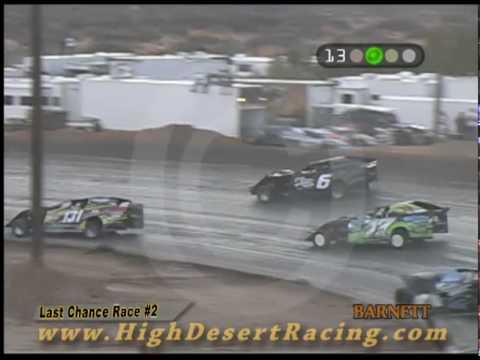 Winter Meltdown Modified Last Chance Race #2 - 3/07/2010