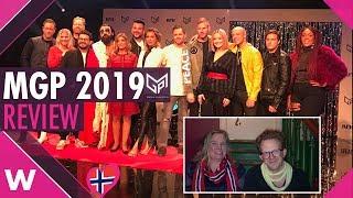 Melodi Grand Prix 2019 Review | Norway Eurovision 2019