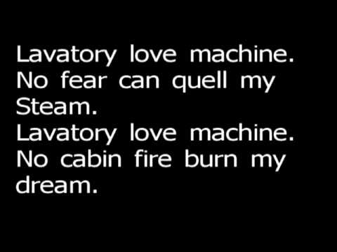 Lavatory love machine - Edguy (Lyrics)