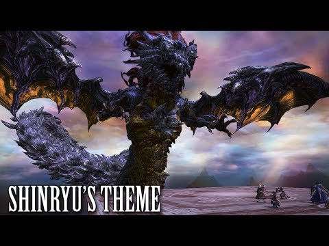 FFXIV OST Shinryu's Theme ( The Worm's Tail )