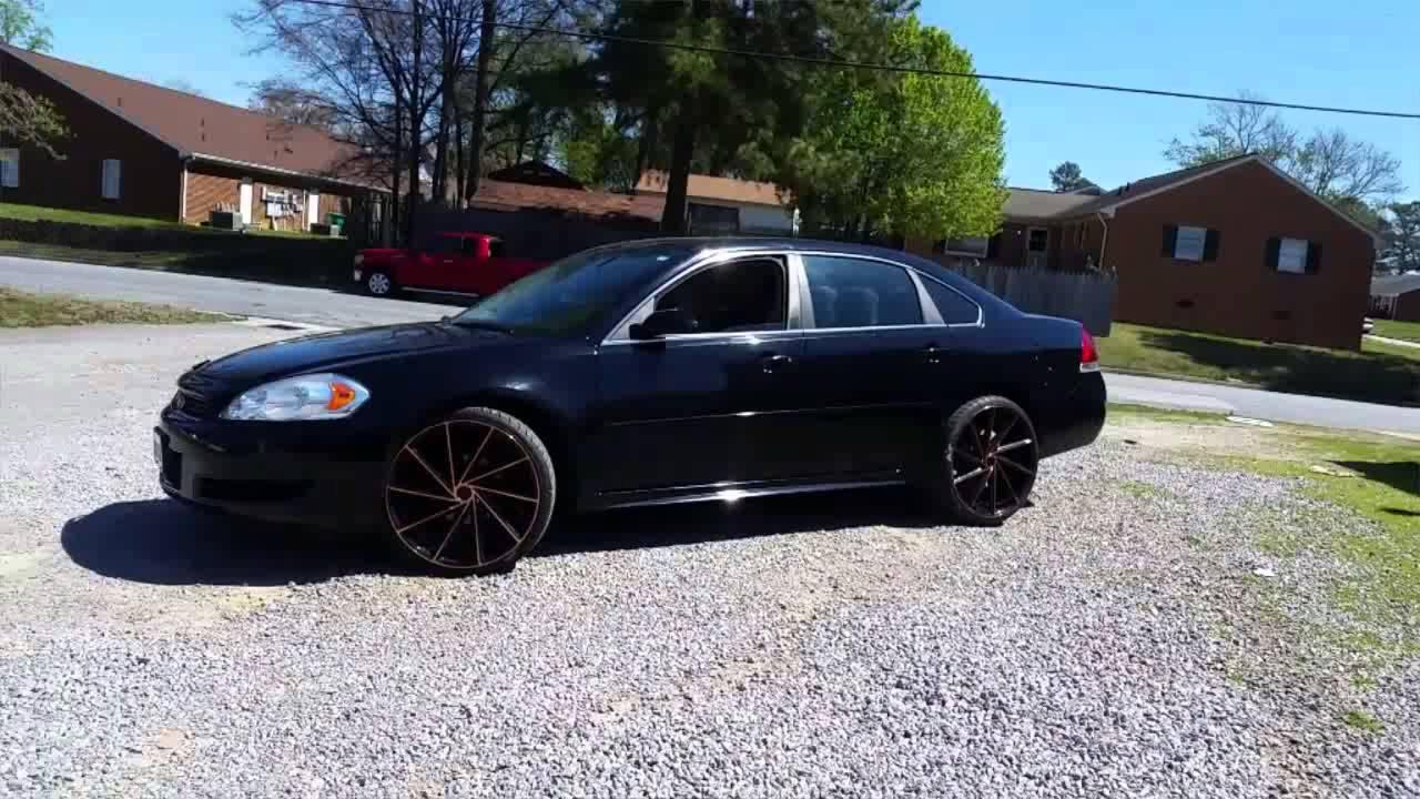 Chevy Impala And Custom Paint Job
