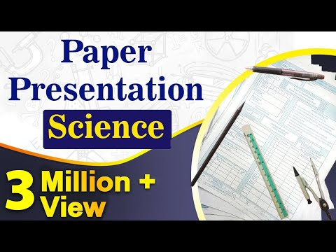 Science Paper Presentation Tips For Students | Exam Tips | L