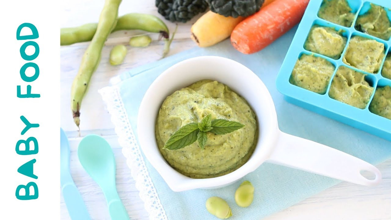 Fava bean kale baby food recipe 9m youtube fava bean kale baby food recipe 9m forumfinder Images