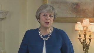 بالفيديو.. تريزا ماي: بريطانيا مكان لكل الأديان