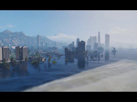 GTA V - Underwater Los Santos Mod (Story missions)