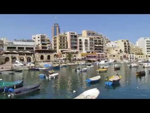 St Julian's Malta - Spinola Bay - Paceville - Portomaso - St George's Bay