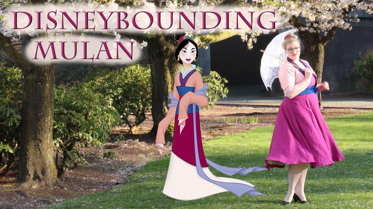 Disneybound Mulan || Making a 1950s Dapper Day Mulan Inspired Outfit