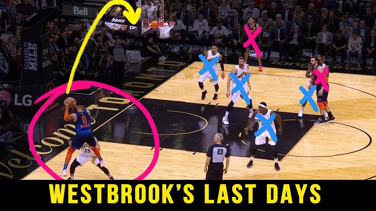 Russell Westbrook's LAST DAYS As NBA Superstar