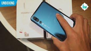 Huawei P20 Pro - Unboxing en español