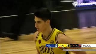 #LNB - Argentino 84-83 Obras Basket (11/11/2020)