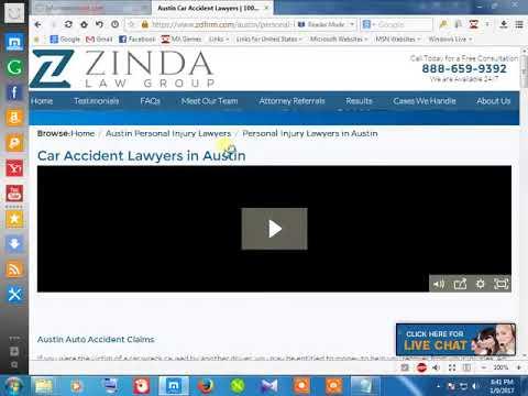 44Personal injured attorney austin