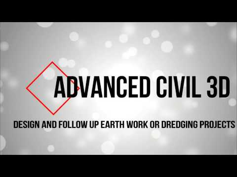 Design & Follow up Earthwork/Dredging Projects in CIVIL 3D (Part 1)