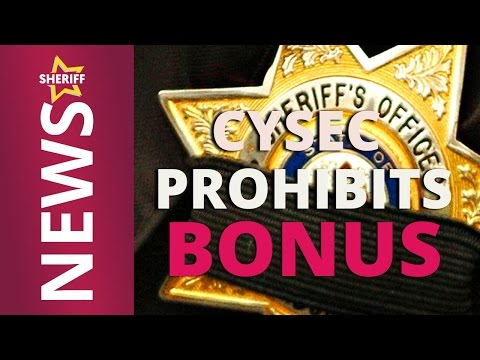 CySec Prohibits Bonus - Regulated Binary Brokers and Forex Not allowed to give Incentive Bonus