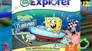 Spongebob Squarepants: The Clam Prix Expansion App - Leapster Explorer Game | Leapfrog