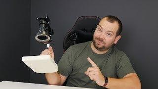 Serwis komputerów z mikroskopem - prezentacja mikroskopu USB/HDMI za 700zł