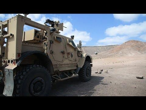 MRAP Vehicle Live-Fire