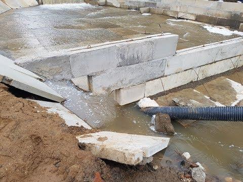 Как в Сергиевом Посаде списали на ремонт плотины 10 миллионов