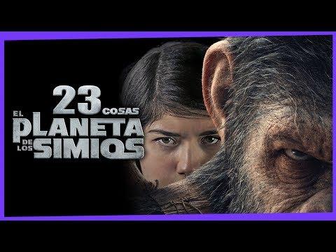 23 Cosas Que No Sabías: El Planeta De Los Simios