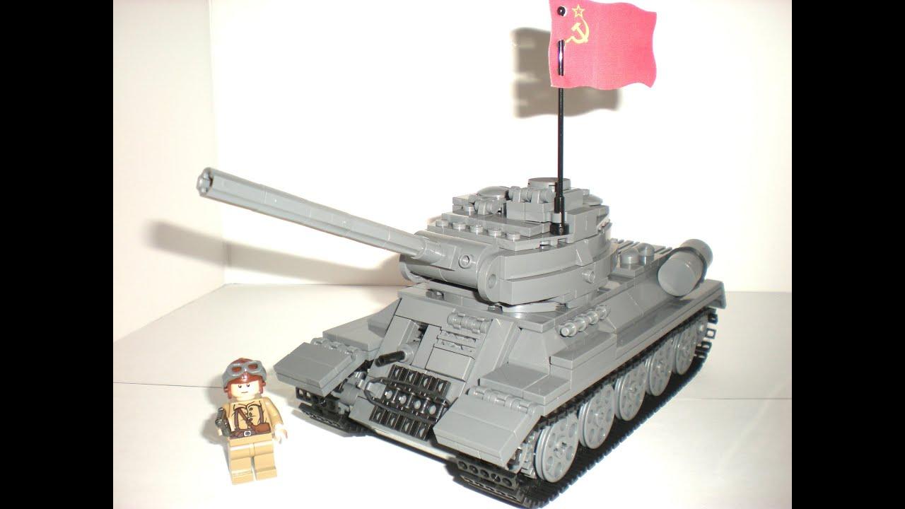 lego ww2 tank instructions free