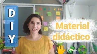 Material Didáctico con material reciclable