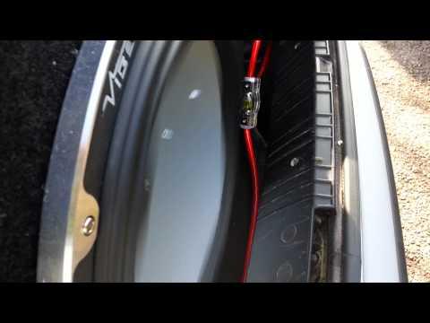 hook up car amp