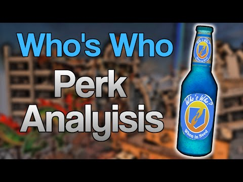 COD Zombies Perk Analysis: Who's Who (Call of Duty Zombies Perks Review/Breakdown)