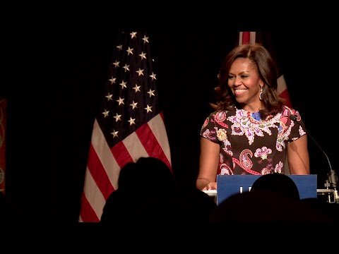 The First Lady Speaks in London on the Let Girls Learn Initiative