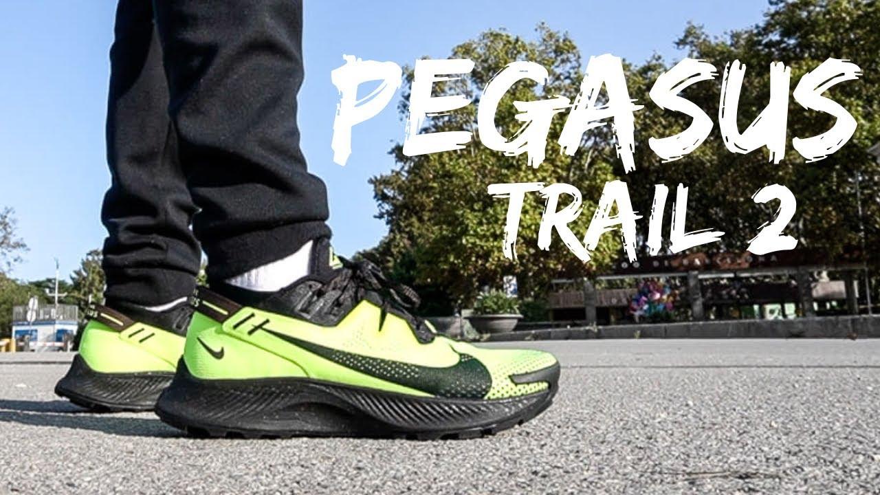 NIKE PEGASUS TRAIL 2 Review & On feet
