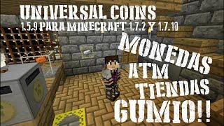 Como instalar y usar Universal Coins 1.5.9 para Minecraft 1.7.10 y 1.7.2