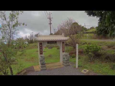 Sun Yat-Sen Memorial Park - Maui Hawaii - DJI Phantom 2, Zenmuse gimbal & Gopro Hero 3 Black